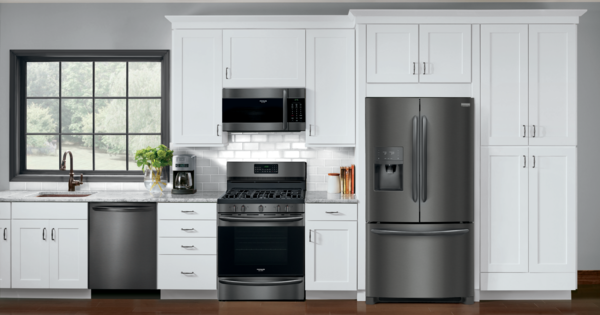 Frigidaire Gallery Black Stainless Steel Appliance Suite