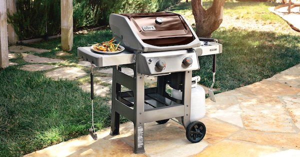Above The Fold Image Weber Spirit E-210 Review - Lifestyle Image