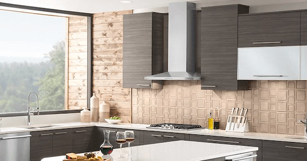 Ventilation Buying Guide - Overview - Kitchen Suite with Chimney Hood