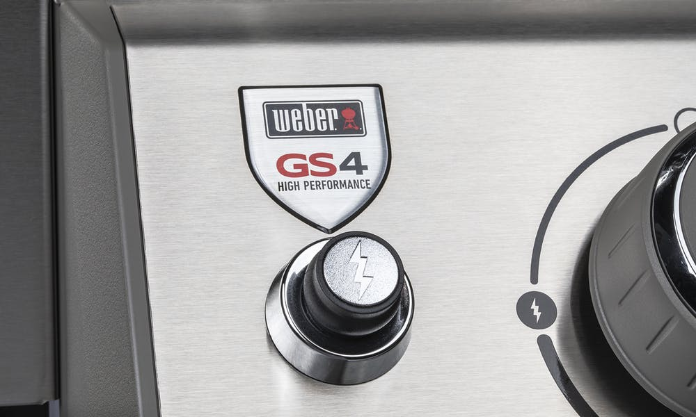 Weber GS4 Infinity Ignition Button